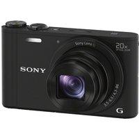 SONY  Cyber-shot DSC-WX350B Superzoom Compact Camera - Black, Black