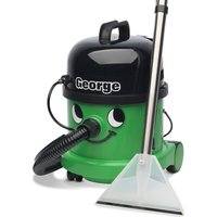 NUMATIC  George GVE370 3-in-1 Cylinder Wet & Dry Vacuum Cleaner - Green & Black, Green