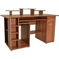 ALPHASON San Diego Desk - Walnut