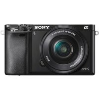 SONY  a6000 Compact System Camera with 16-50 mm f/3.5-5.6 OSS Zoom Lens, Black