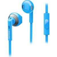 PHILIPS SHE3205BL/00 Headphones - Blue, Blue