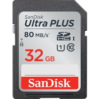 SANDISK  Ultra Plus Class 10 SD Memory Card - 32 GB