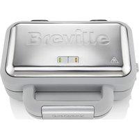 BREVILLE VST072 Waffle Maker - Grey & Stainless Steel, Stainless Steel