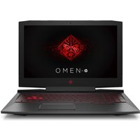 HP OMEN 15-ce054na 15.6 Gaming Laptop - Black, Black