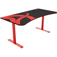 AROZZI Arena Gaming Desk - Red & Black, Red
