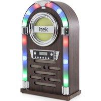 ITEK Jukebox I60018CD Wireless Hi-Fi System - Wood Finish
