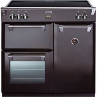 STOVES Richmond 900Ei Electric Induction Range Cooker - Black, Black