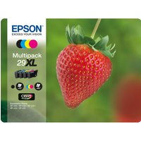 EPSON Stawberry 29 XL Cyan, Magenta, Yellow & Black Ink Cartridges - Multipack, Cyan