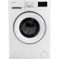 SHARP ES-GFB7123W3 Washing Machine - White, White