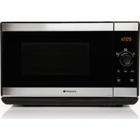 HOTPOINT MWH2021XUK Solo Microwave - Stainless Steel, Stainless Steel