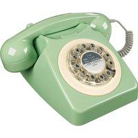 WILD & WOLF  746 Corded Phone - Swedish Green, Green
