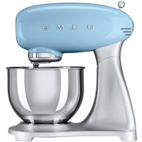 SMEG SMF01PBUK 50s Retro Stand Mixer - Pastel Blue, Blue