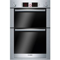 BOSCH Logixx HBM56B551B Electric Double Oven - Stainless Steel, Stainless Steel
