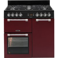 LEISURE  Cookmaster CK90F232R Dual Fuel Range Cooker - Red, Red