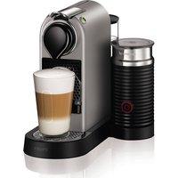 NESPRESSO by Krups Citiz & Milk XN760B40 Coffee Machine - Silver, Silver