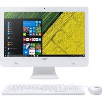 "ACER C20-720 19.5"" All-in-One PC - White, White"