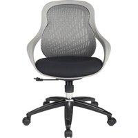 ALPHASON Croft Mesh Tilting Operator Chair - Grey, Grey