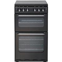NEW WORLD 500TSIDL Gas Cooker - Black, Black