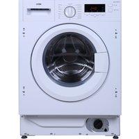 LOGIK  LIW714W15 Integrated Washing Machine - White, White