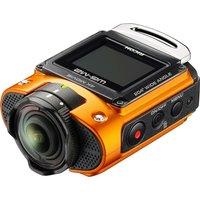 RICOH WG-M2 Action Camcorder - Orange, Orange
