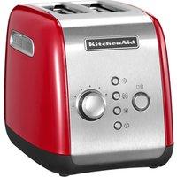 KITCHENAID 5KMT2116BER 2-Slice Toaster - Red, Red