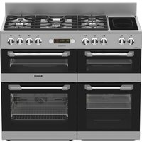 LEISURE Cuisinemaster CS110F722X Dual Fuel Range Cooker - Stainless Steel, Stainless Steel