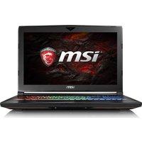 MSI GT62VR 6RE Dominator Pro 15.6 Gaming Laptop - Black, Black