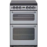 NEW WORLD 550TSIDOM Gas Cooker - Silver, Silver