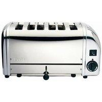 DUALIT Vario 378701 6-Slice Toaster - Stainless Steel, Stainless Steel