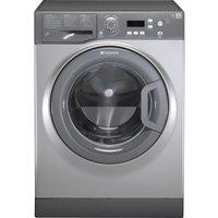 HOTPOINT Aquarius WMAQF641G Washing Machine - Graphite, Graphite