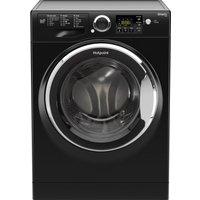 HOTPOINT Smart RSG964JKX Washing Machine - Black, Black
