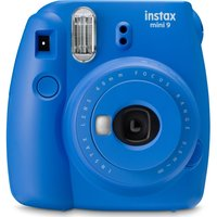 INSTAX mini 9 Instant Camera - Cobalt Blue, Blue