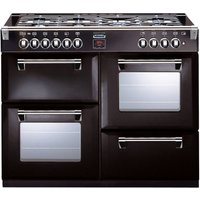 STOVES Richmond 1000GT Gas Range Cooker - Black, Black
