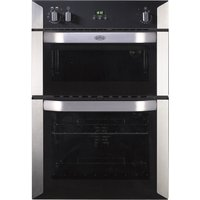 BELLING BI90FP Electric Double Oven - Stainless Steel, Stainless Steel
