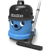 NUMATIC  Charles CVC370 Cylinder Wet & Dry Vacuum Cleaner - Blue & Black, Blue