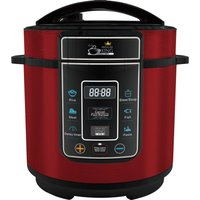 PRESSURE KING Pro Digital Pressure Multicooker - Red, Red