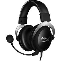 HYPER X CloudX Pro Gaming Headset- Silver, Silver