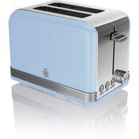 SWAN ST19010BLN 2-Slice Toaster - Blue, Blue