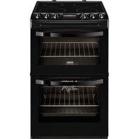 ZANUSSI ZCV46330BA Electric Ceramic Cooker - Black, Black