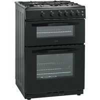 LOGIK  LFTG60B16 Gas Cooker - Black, Black
