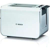 BOSCH Styline TAT8611GB Advantage 2-Slice Toaster - White, White