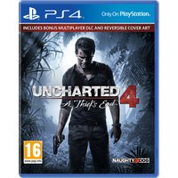 PLAYSTATION 4 Uncharted 4: A Thiefs End - for PS4