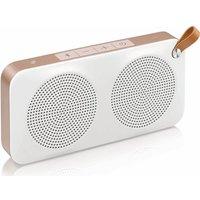 JVC  SP-AD60-M Portable Wireless Speaker - White & Gold, White