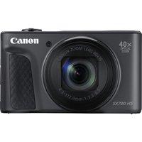 CANON PowerShot SX730 HS Superzoom Compact Camera - Black, Black