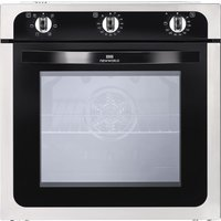 NEW WORLD NW602F STA Electric Oven - Black & Stainless Steel, Stainless Steel