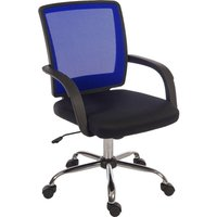TEKNIK Star 6910BL Mesh Reclining Executive Chair - Blue, Blue