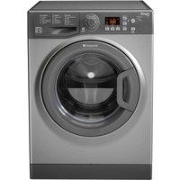 HOTPOINT WMFUG742G SMART Washing Machine - Graphite, Graphite