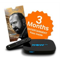 NOW TV  Full HD Smart TV Box - 3 Months Entertainment Bundle