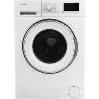 SHARP ES-GFB7144W3 Washing Machine - White, White