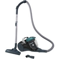 HOOVER Breeze BR71 BR01 Cylinder Bagless Vacuum Cleaner - Black & Green, Black